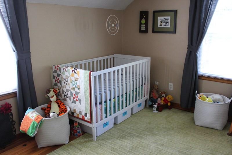 Left side of nursery