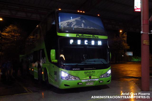Pullman Bus - Temuco - Modasa Zeus / Scania (FXVT53)