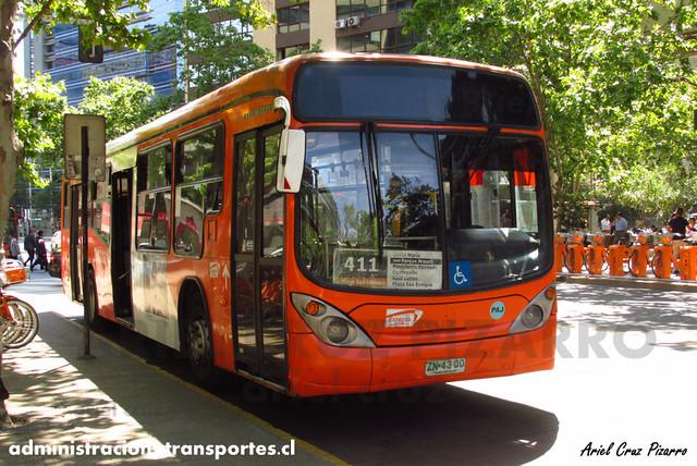 Transantiago - Express de Santiago Uno - Marcopolo Gran Viale / Volvo (ZN4300)