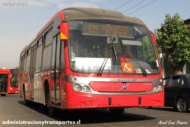 Transantiago - Redbus Urbano - Neobus Mega BRT / Volvo (CJRK38) (1206)