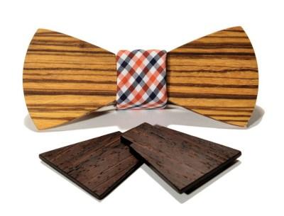 SFMoMA Interchangeable Wooden Bow Tie
