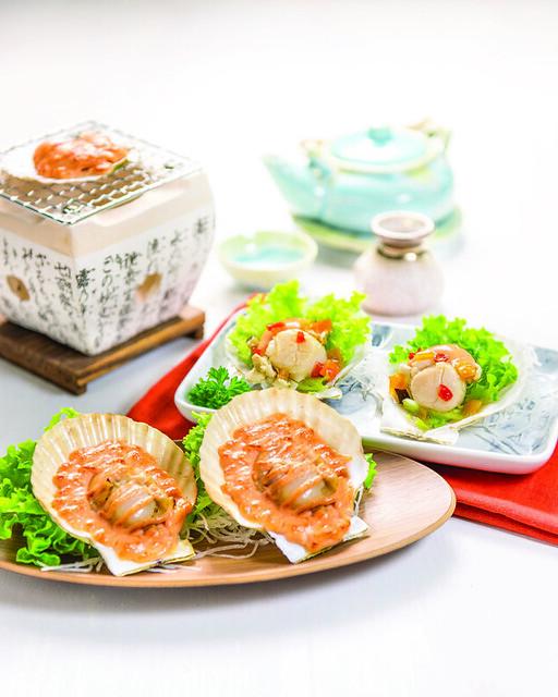 09 Hotate Mentaiyaki & Hotate Nanban Yaki