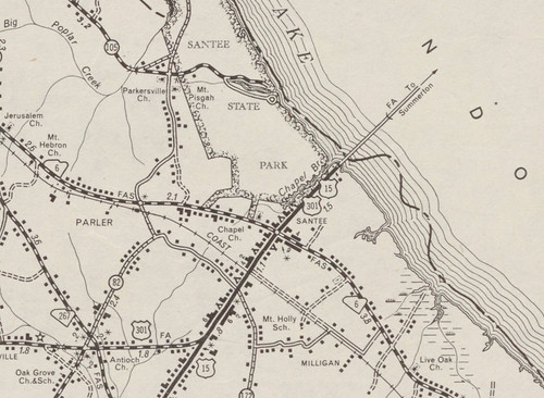 Santee Trans Map 1