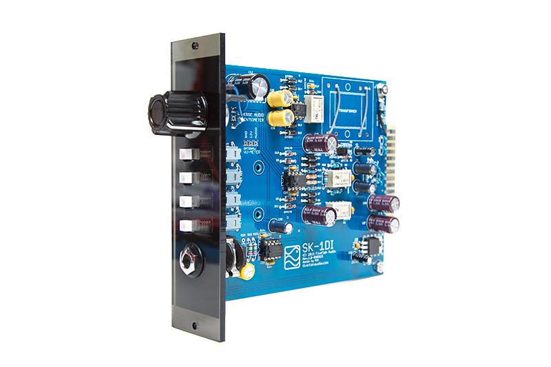 SK-1DI Mic Preamp Kit for 500 Series API Lunchbox, Rev 1 2