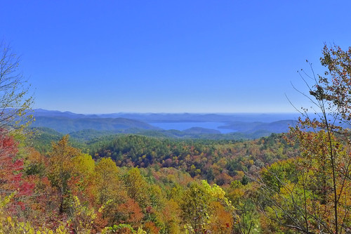 Lake Jocassee from Wiggington Road Overlook-003