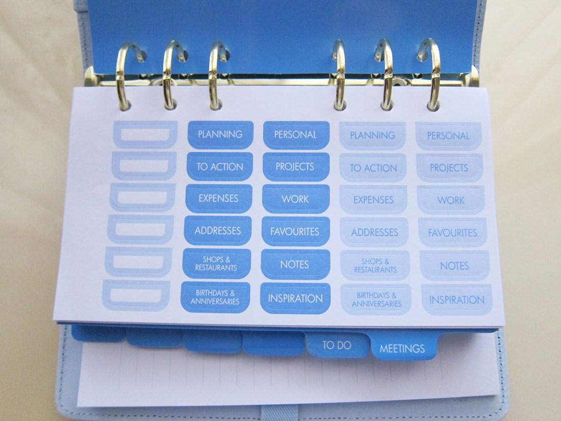 Kikki-K Ice Blue Planner