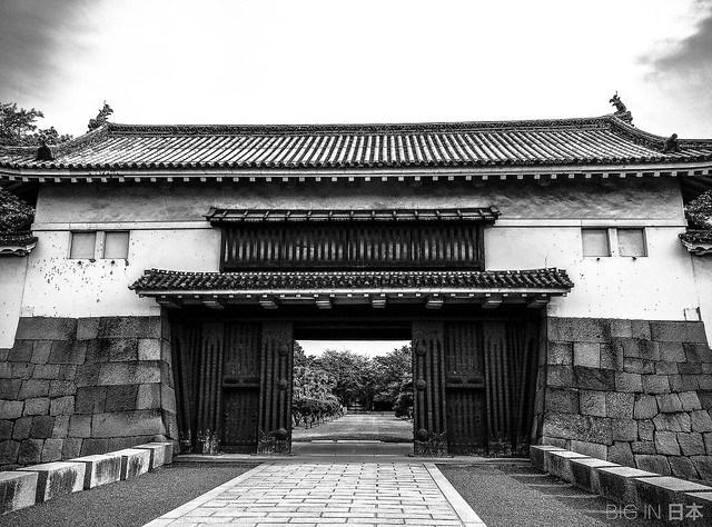 Entrada al castillo de Nijo