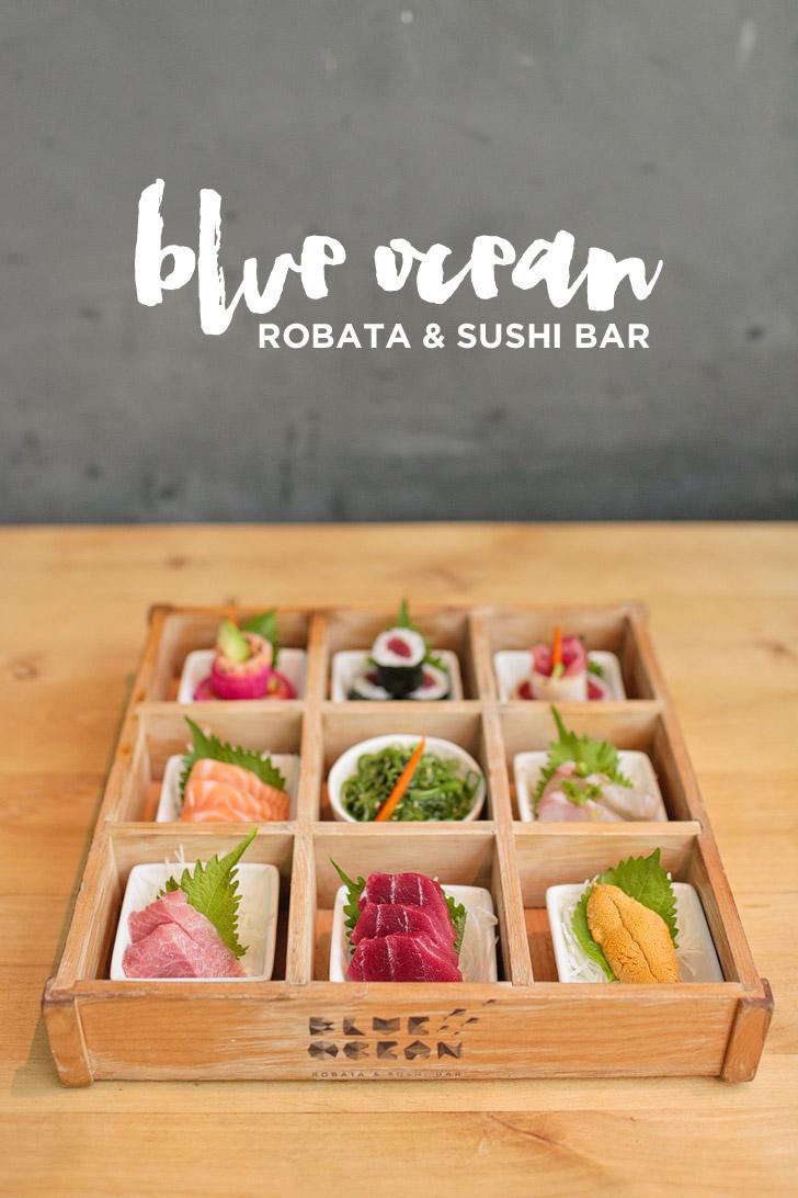 Blue Ocean Robata & Sushi Bar / Carlsbad Restaurants.