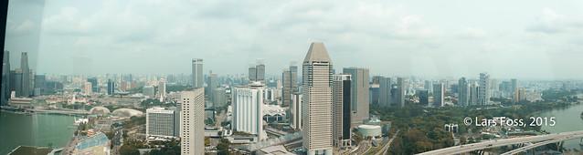 Panorama over Singapore