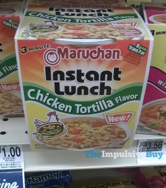 Maruchan Chicken Tortilla Instant Lunch