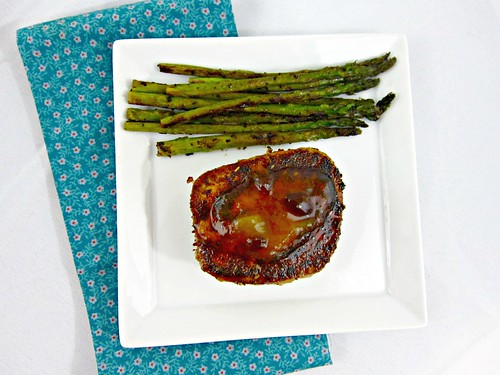 Blackened Tuna Steaks with Mango Chutney