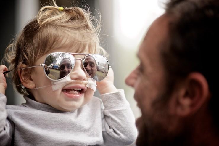 Dad's sunglasses