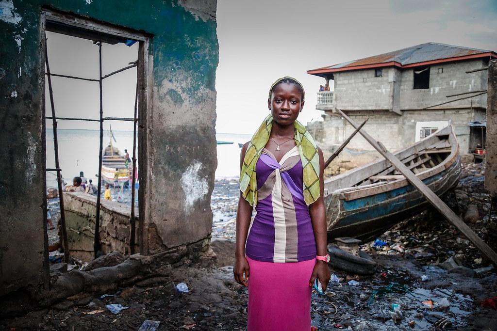 """Now I want to be a doctor"" - Celina Kamanda, Ebola survivor in Freetown, Sierra Leone"