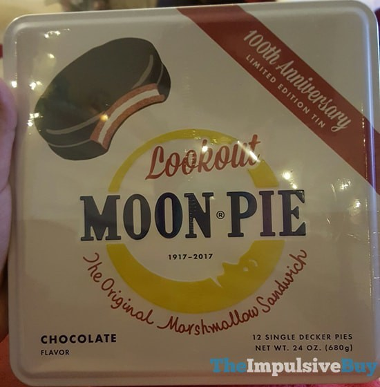 Lookout Moon Pie 100th Anniversary Limited Edition Tin