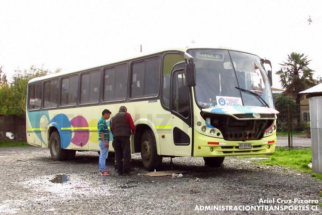Bus Rural Zona Aislada (José Castillo Carter) - Villarrica - Neobus Spectrum / Mercedes Benz (XS4566)