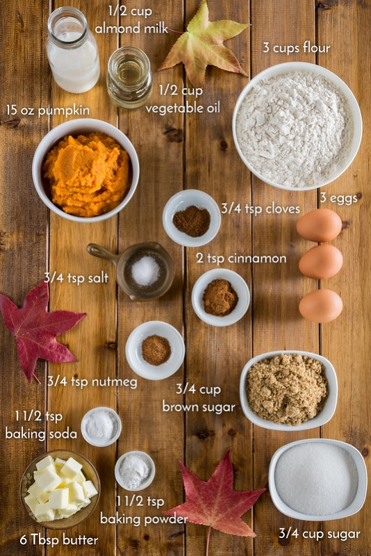 flavorful ingredients for the whoopie pies