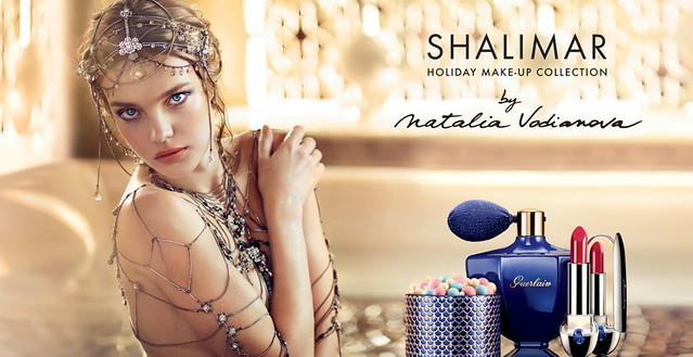 01 Guerlain Shalimar Holiday Make Up Collection by Natalia Vodianova swatches