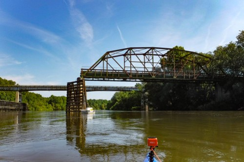 Burton's Ferry Swing Bridge