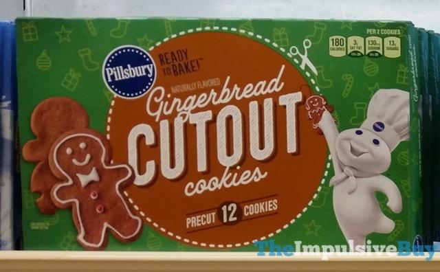 Pillsbury Gingerbread Cutout Cookies