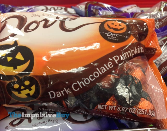 Dove Dark Chocolate Pumpkins