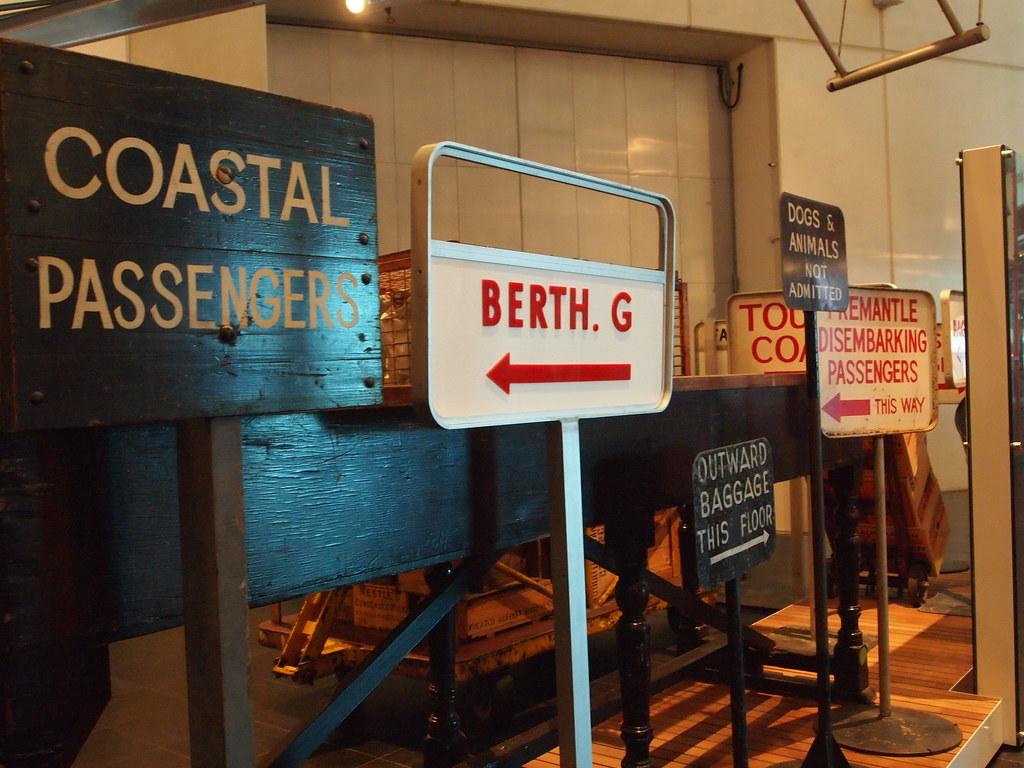 Fremantle - Shipwreck Museum 1
