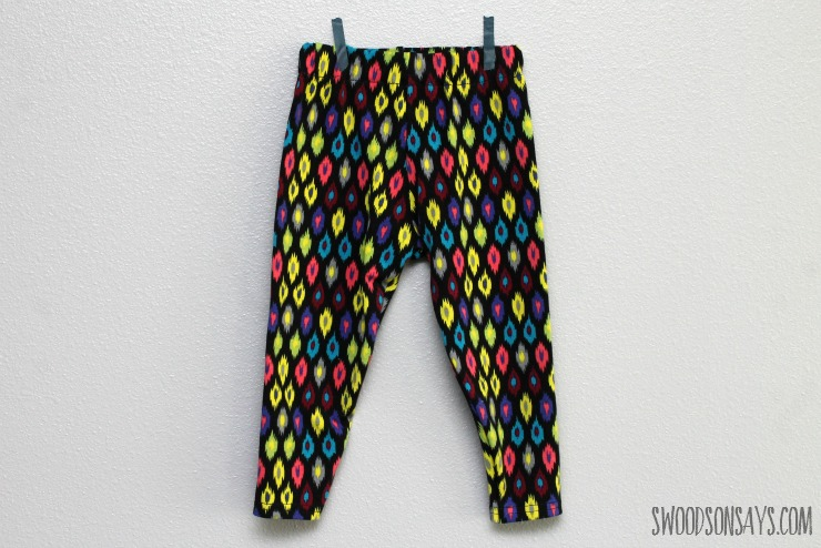 free leggings pattern tested