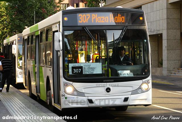 Transantiago - Buses Vule - Caio Mondego H / Mercedes Benz (BJFS37) (54)