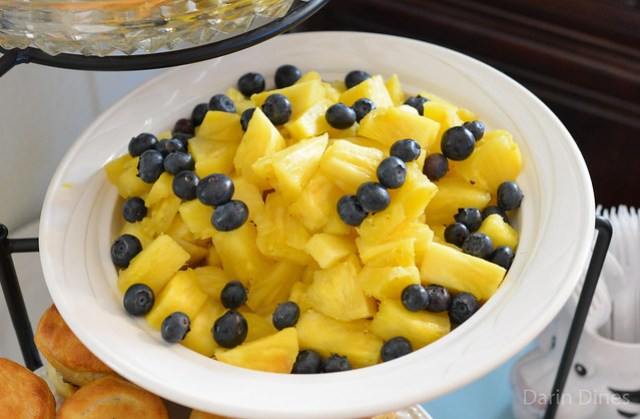 Pineapple with Blueberries