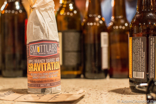 Smuttynose Smuttlabs Apple Brandy Barrel Aged Gravitation