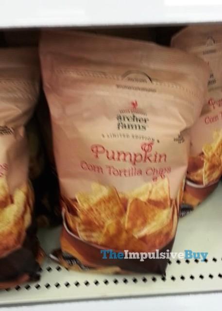 Archer Farms Limited Edition Pumpkin Corn Tortilla Chips
