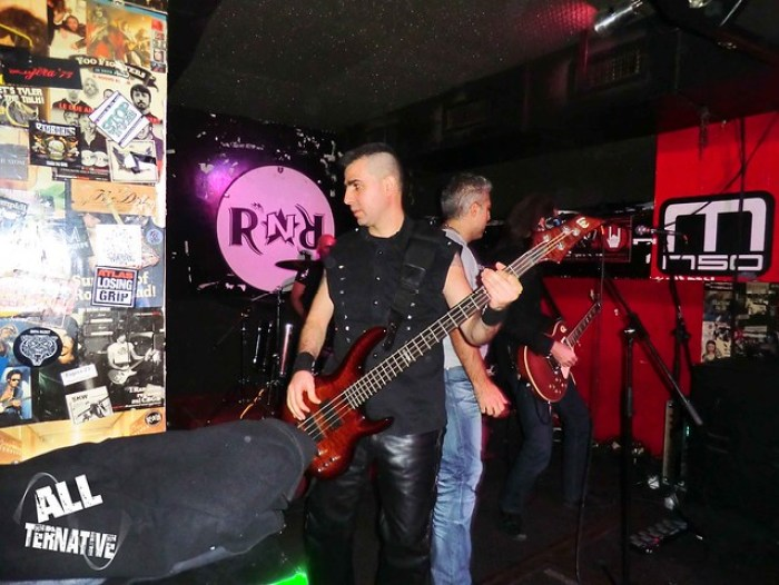 The White Crow - Rock'N'Roll Milano 26/12/2014