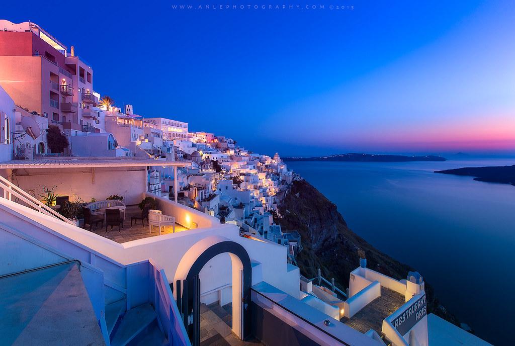Thira sunset