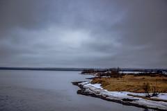 Temps gris - Baie de Sept-Iles