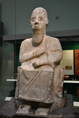 Statue of King Idrimi of Alalakh (1570-1500 BC)