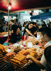 Night market- street food