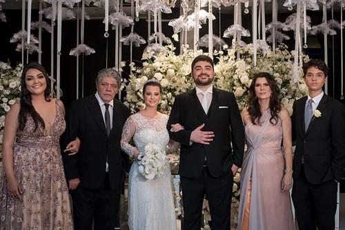 A família de Lucas Ana Carolina, Adílio, Nathália e Lucas, Rosilene e Eduardo
