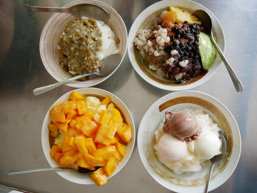 [南投美食]德意冰坊 綜合八寶冰有新鮮水果配料~夏季限定芒果牛奶冰 @VIVIYU小世界