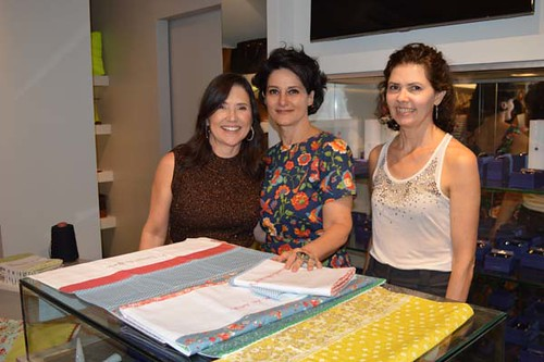 Alessandra, Cidinha Araújo e Gina