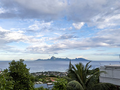 "Tahiti, French Polynesia - View of Moorea from ""home"""