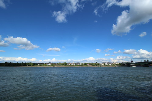 """The Rhine River - Bonn, Germany • <a style=""""font-size:0.8em;"""" href=""""http://www.flickr.com/photos/104409572@N02/48072147111/"""" target=""""_blank"""">View on Flickr</a>"""