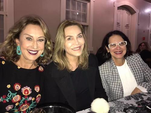 Raquel, Leida Horst e Carminha