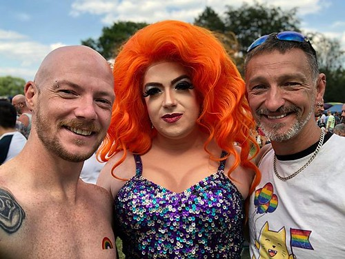 Today is all about...Salford Pride Pink Picnic