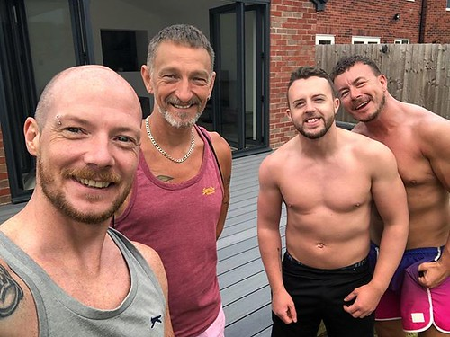 Today is all about...the day 4 gays laid decking