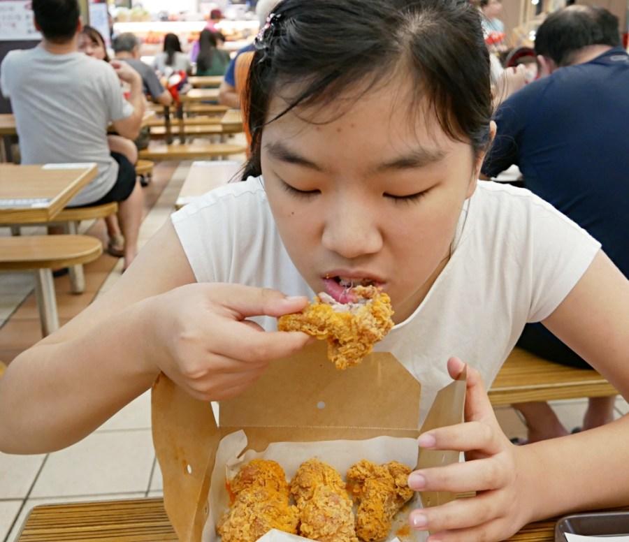 愛買美食街,拿坡里,拿坡里炸雞,桃園愛買,桃園炸雞,桃園美食,武陵高中美食,酥炸棒腿 @VIVIYU小世界