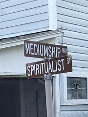 Intersection of Mediumship Way and Spiritualist Street