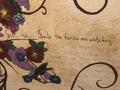 Bathroom Graffiti at the Hotel Cassadaga
