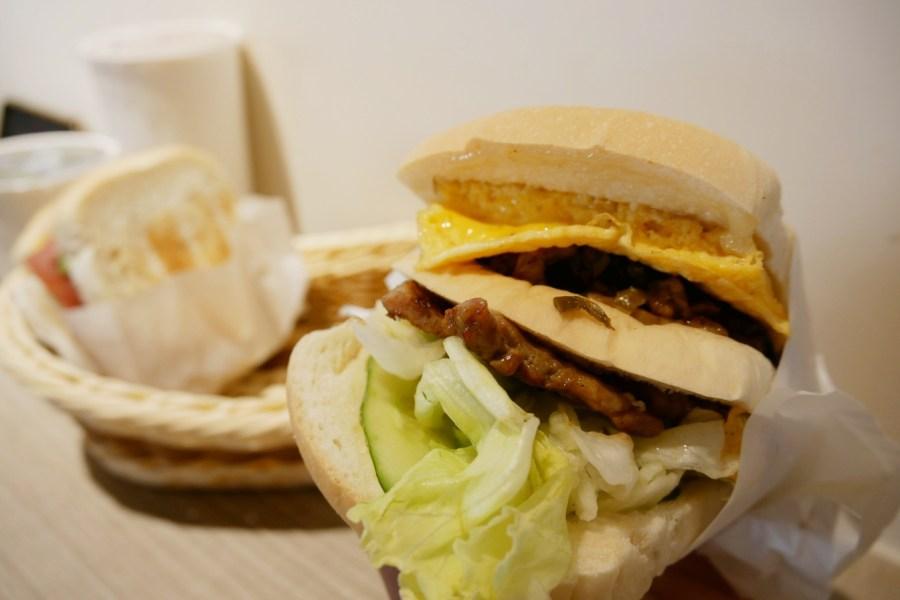 (關門大吉)[桃園美食]喬美肉蛋吐司 朝陽森林公園附近的營養早餐店~純手工碳烤土司‧澎派的美味內餡 @VIVIYU小世界