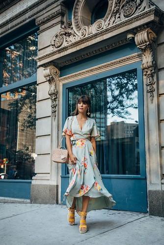 Drop dress