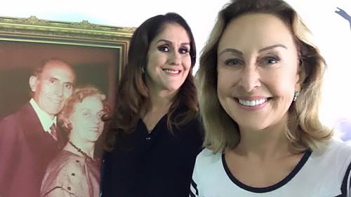 Salette Olguin e Raquel de Carvalho