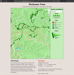 Daniel Boone and Big South Fork scenic trail index